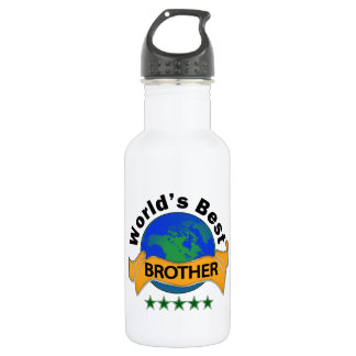 World's Best Brother 532 Ml Water Bottle