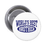 World's Best Brother Buttons