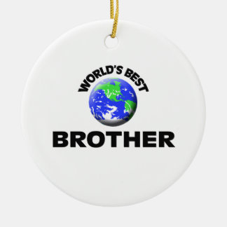 World's Best Brother Christmas Ornament