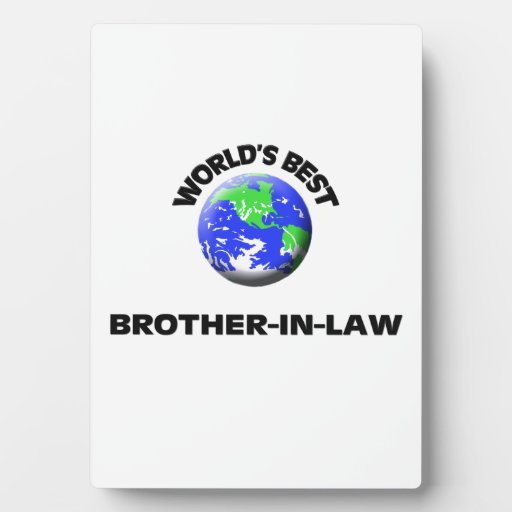 World's Best Brother-In-Law Photo Plaque