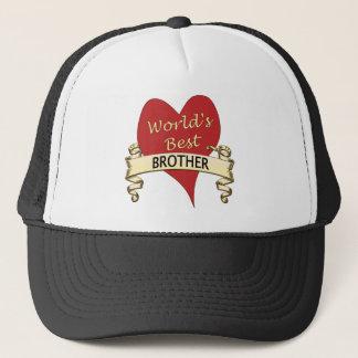 World's Best Brother Trucker Hat