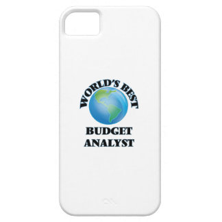 World's Best Budget Analyst iPhone 5 Cases