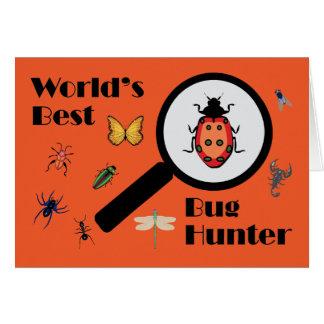 Worlds Best Bug Hunter Card