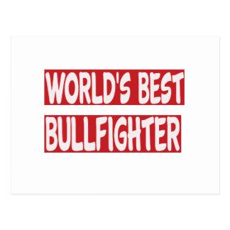 World's Best Bullfighter. Postcard