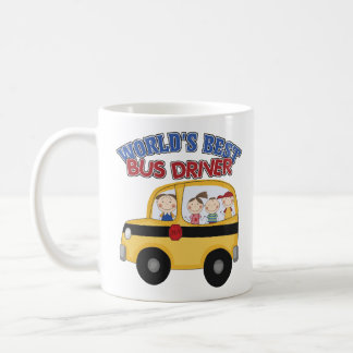World's Best Bus Driver Basic White Mug