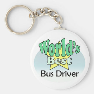 World's best bus driver key ring