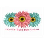 World's Best Bus Driver Postcards
