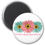 World's Best Bus Driver Refrigerator Magnets