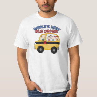 World's Best Bus Driver T-Shirt