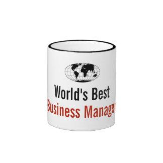 World's best Business Manager Ringer Mug