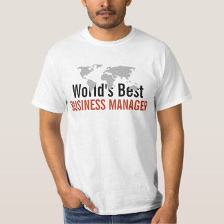 World's best Business Manager Tshirts