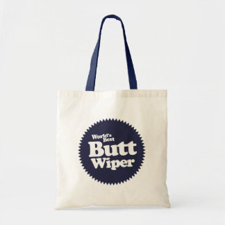 World's Best Butt Wiper Nurse CNA RNA Tote Bag