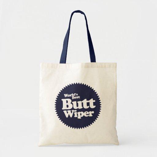 World's Best Butt Wiper Nurse CNA RNA Tote Bag