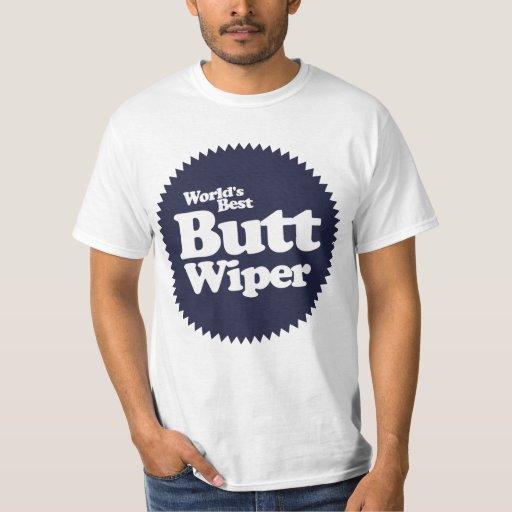 World's Best Butt Wiper Nurse CNA RNA T-Shirt