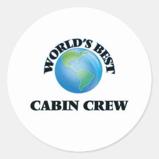 World's Best Cabin Crew Stickers