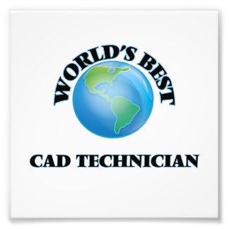 World's Best Cad Technician Photo Print