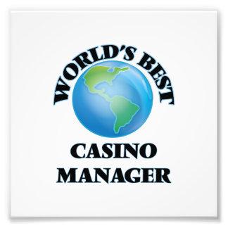 World's Best Casino Manager Photograph