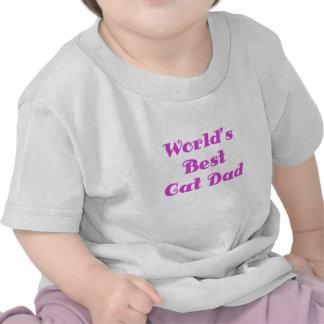 Worlds Best Cat Dad Tshirts