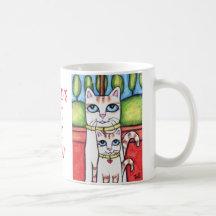 World's Best Cat Mum Coffee Cats Mug