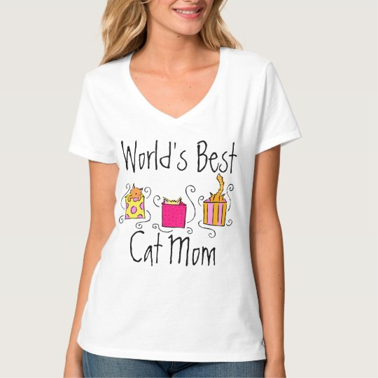 World's Best Cat Mum T-Shirt