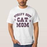 World's Best Cat Mum Tee Shirts