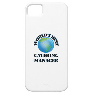 World's Best Catering Manager iPhone 5/5S Covers
