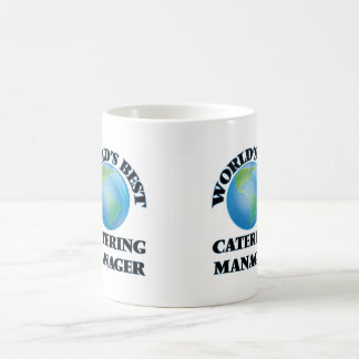 World's Best Catering Manager Coffee Mugs