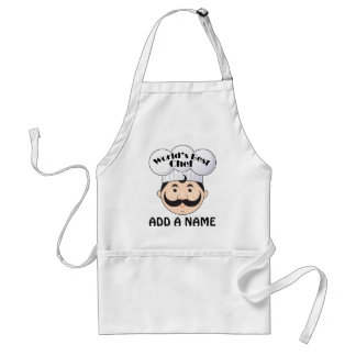World's Best Chef Grill Cook Standard Apron