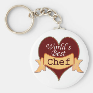 World's Best Chef Key Ring