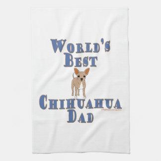World's Best Chihuahua Dad Kitchen Towel