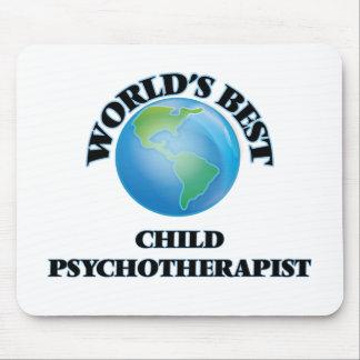 World's Best Child Psychotherapist Mousepads