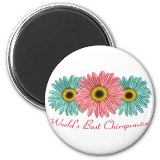 World's Best Chiropractor 6 Cm Round Magnet