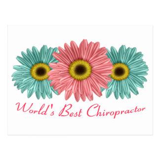 World's Best Chiropractor Postcard
