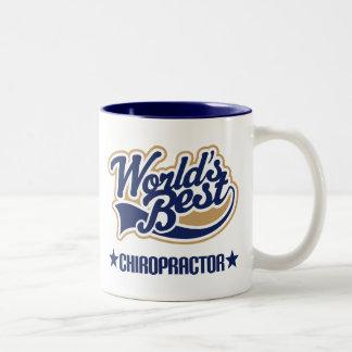 Worlds Best Chiropractor Two-Tone Coffee Mug