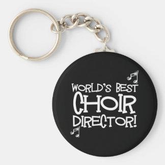 World's Best Choir Director Key Ring