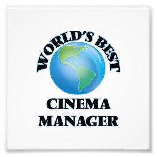 World's Best Cinema Manager Art Photo