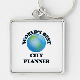 World's Best City Planner Key Chains
