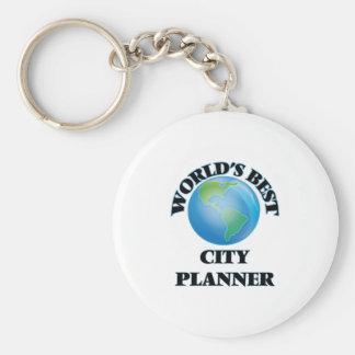 World's Best City Planner Key Chain