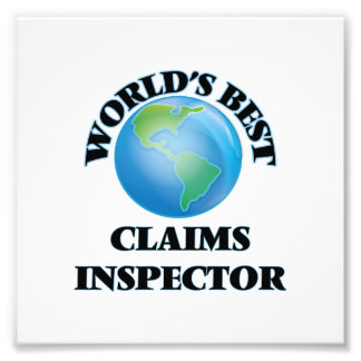 World's Best Claims Inspector Photo