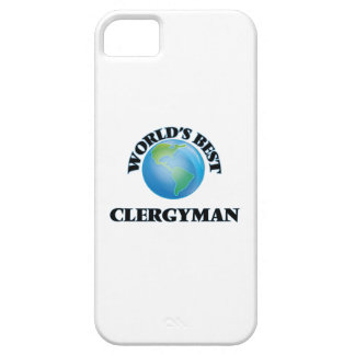 World's Best Clergyman iPhone 5 Cover
