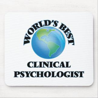 World's Best Clinical Psychologist Mousepads