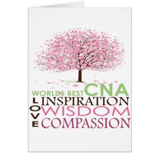 World's Best CNA Greeting Cards