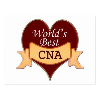 World's Best CNA Postcard