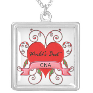 World's Best CNA Silver Plated Necklace
