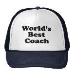 World's Best Coach Cap