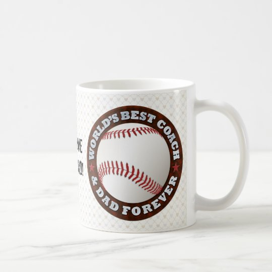 World's Best Coach & Dad 1 Mug