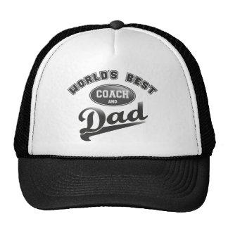 World's Best Coach & Dad Cap