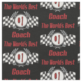 World's Best Coach - Number One Fabric