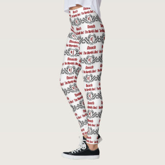 World's Best Coach - Number One Leggings