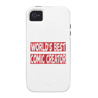 World's Best Comic creator. iPhone 4/4S Cover